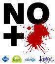 ¡No + sangre!